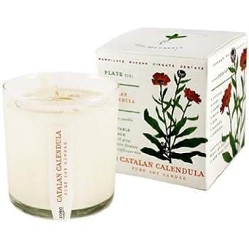 Catalan Calendula Soy Candle with Plantable Box