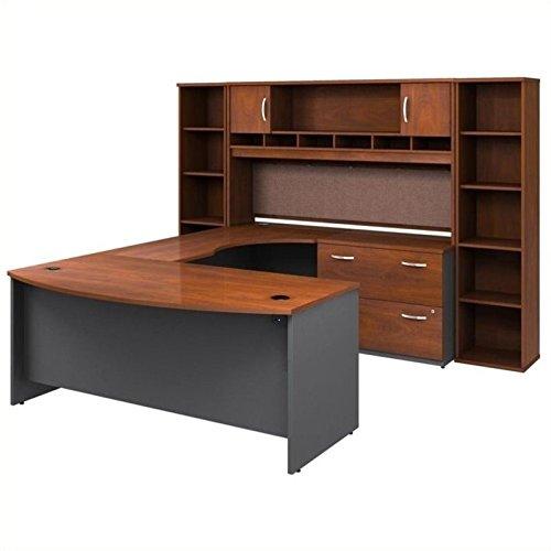Bush Business Series C 6-Piece U-Shape Right-Hand Corner Desk ()