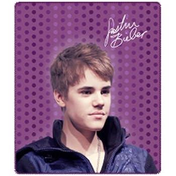 Amazon.com: Justin Bieber Throw Blanket - Justin Bieber ... - photo #10