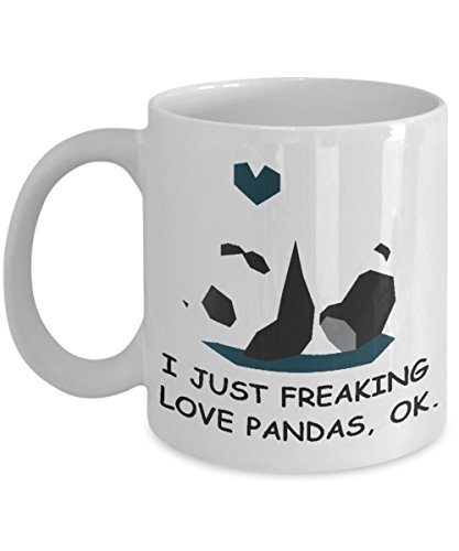 I just freaking love pandas, - Prescription Costco Glasses
