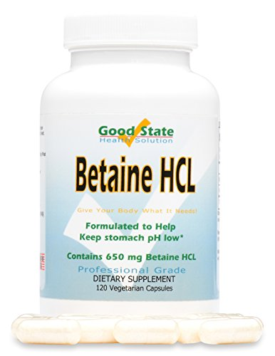 Good State - Betaine HCL - (120 veggie capsules)