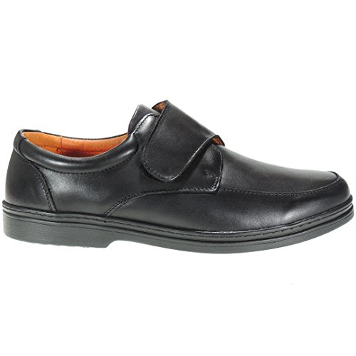 Negro Comfort sv Para Modelo De Comfortable 01 Cierre Con Hombre Aa Extraligero Velcro Zapato Boston 328 ZWxSqTw8RR