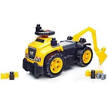 Amazon.com: Mega Bloks Caterpillar (Renovado), Estándar ...