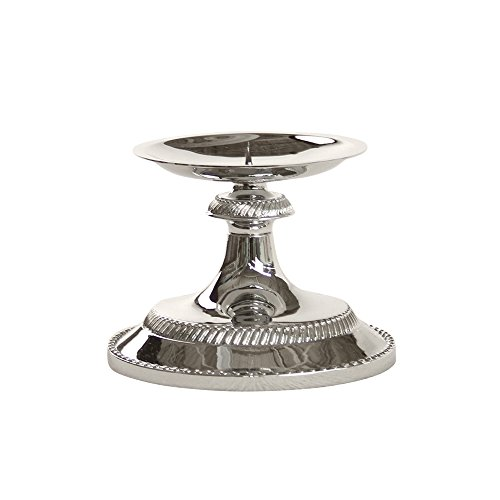 Chrome Candle Holder - 8