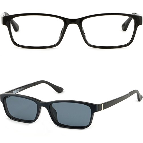 TR90 Plastic Frame Prescription Glasses Magnetic Clip Snap On - Snap On Magnetic Sunglasses