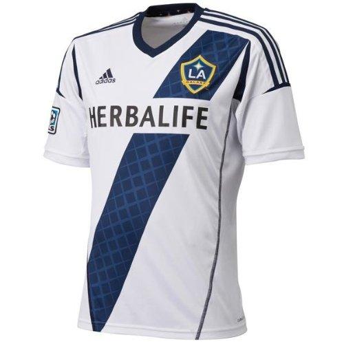 best cheap 9cabd d26ae LA Galaxy Home Adidas Shirt 2013 - 2014 USA - Buy Online in ...