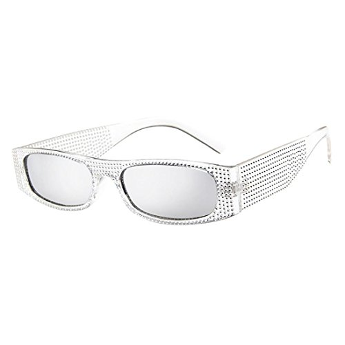 Women Men Sunglasses, Small Frame Sunglasses Vintage Retro Glasses Unisex Fashion Eyewear By Limsea (Dragon Sunglasses Around Wrap)