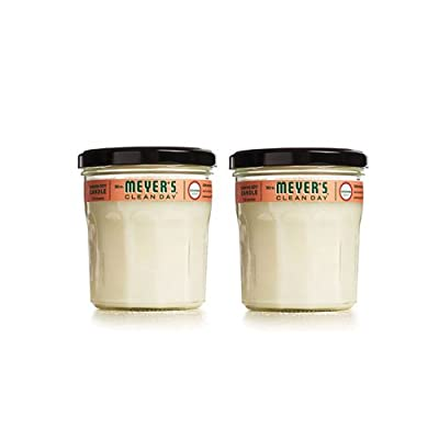 Mrs. Meyer's Clean Day Soy Candle, 7.2 Ounce Glass Jars (Case of 6)