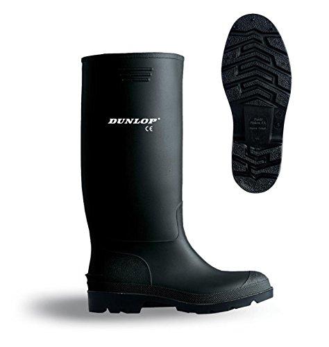 Dunlop unisex b-dri budget wellington boot Black mC4cW