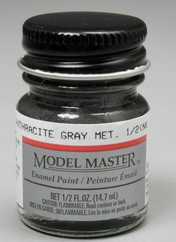 Testors Enamel Master Model - Testors Model Master Automotive Enamel Anthracite Gray Metallic by Testor Corp.