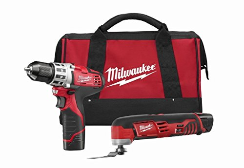 Milwaukee 2495-22 Combo Drill/multi-tool Kit by Milwaukee Electric Tools