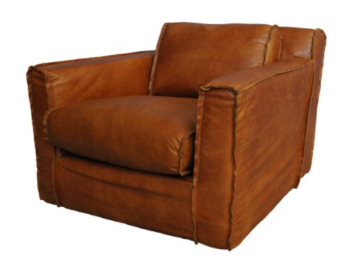 Clubsessel Redhill Leder Columbia Brown