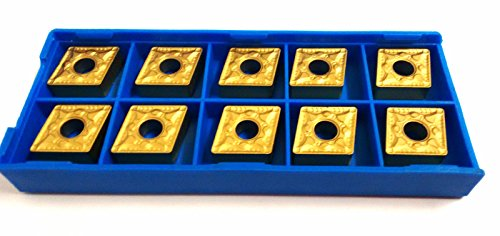 Indexable Carbide Turning Inserts CNMG 120408 TiN Coated for Steel and Stainless Steel