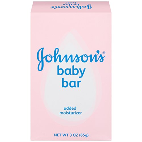 Johnson's Baby Soap Bar Gentle for Baby Bath and Skin Care, Hypoallergenic, 3 oz