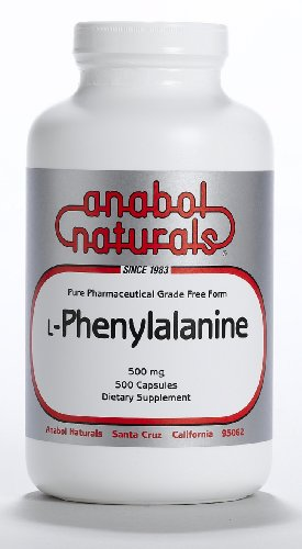 100 Grams L-Phenylalanine AnabolNaturals Free Form Pure Crystalline Powder