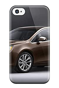 Special Design Back Buick Verano Brown Side And Front Phone Case Cover For Iphone 4/4s