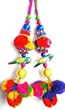 Latkans Beaded Blouse Decorative Keychain Tassels Supply Crafting 1 Pair