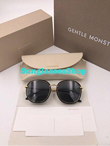 Gentle Monster Sunglasses Mad Crush Black Frame Black Lenses With Origianl Package - Sunglasses Monster Gentle