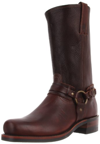 FRYE Men's Harness 12R Boot,Chestnut 7.5 M US by FRYE