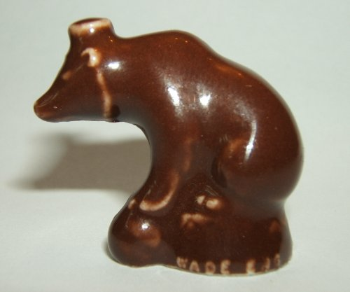 """Extra Dark"" Circus Bear - Wade Figurine (Red Rose for sale  Delivered anywhere in USA"
