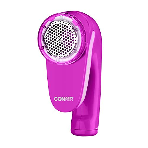 Conair Fabric Defuzzer - Shaver, Battery Operated, Pink