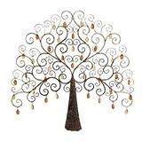 Metal /Crystal Tree Decor Low Priced Wall Decor by Benzara