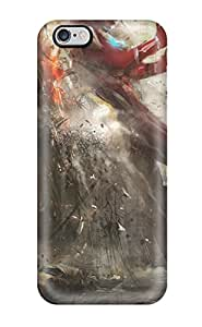 Series Skin Case Cover For Iphone 6 Plus(godzilla And Ultraman)