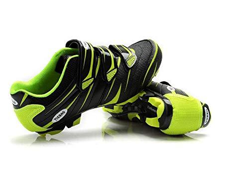 Mountainbike fietsschoenen MTB-schoenen voor mannen/vrouwen, ademend, antislip, compatibel Shimano SPD-systeem