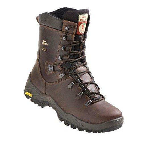 DogWalker 1023baak de randonnée d'hiver chaussures Casual Bottes en cuir véritable marron windproof-perfect imperméable pour chien marche, 1023