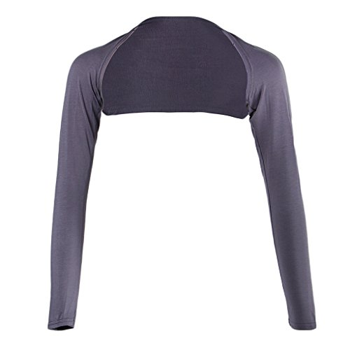 Homyl ボレロ アームカバー イスラム教徒 フリーサイズ 連肩 長袖 伸縮性 軽量 多色選べ