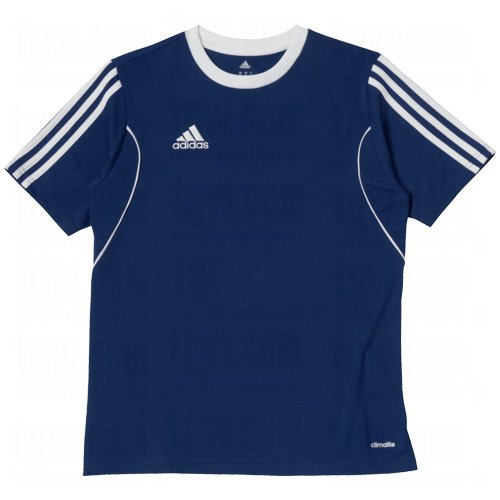 (Adias Squadra 13 Youth Soccer Jersey YS New Navy-White)