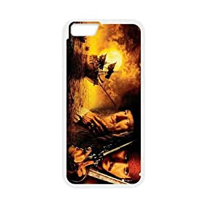 Pirates of the Caribbean iPhone 6 Plus 5.5 Inch Cell Phone Case White MUS9221954