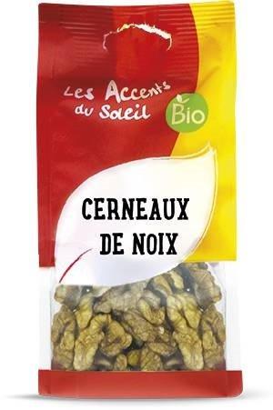 Núcleos de Nueces Orgánicas, Nueces Peladas - Nueces sin Cáscara, sin Sal | 100g | Les Accents du Soleil: Amazon.es: Alimentación y bebidas