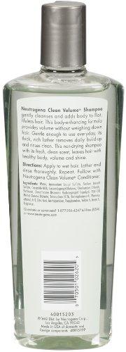 Neutrogena Clean Volume Body Enhancing Shampoo, 10.1 Ounce (Pack of 2)