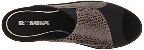 Dress Kombi Women's 246 Grey ROMIKA Sandal Mokassetta Cft7wq