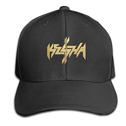 FHJEyh3 Ke$ha Kesha 100% Cotton Hat Men Women Adjustable Baseball Cap Solid Color Cap Golf Cap Black]()
