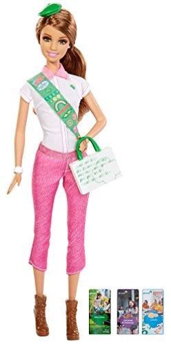 Barbie Loves Girl Scouts, Brunette Doll