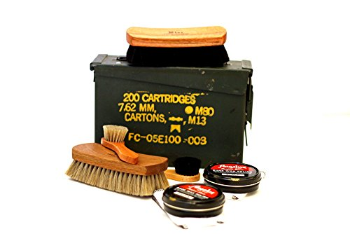Shinekits Ammo Can Shoe Shine Kit by Shinekits (Image #6)