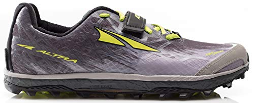 Altra AFM1852G Men's King MT 1.5 Trail Running Shoe, Gray/Li
