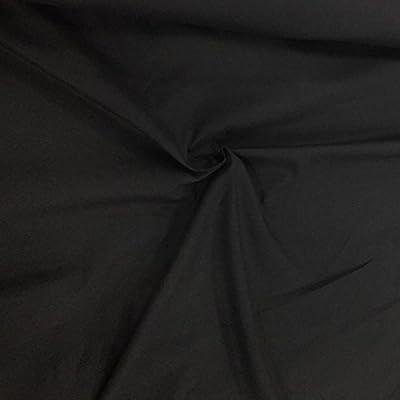 Negro Martillo de lona de algodón resistente al agua tela entrega gratuita. Heavy al aire libre lonas fundas 150 cm. Se vende por metro.: Amazon.es: Hogar