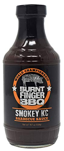 Burnt Finger BBQ Smokey KC Barbecue Sauce - 19.7 ounces ()