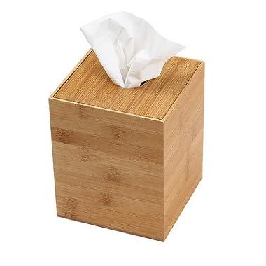 YBM Home & Kitchen Boutique Box Toilet Paper Tissue Paper Holder/tissue Box Size 5.3wx5.3lx6.3h #332
