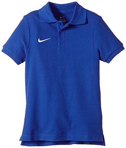 NIKE Junior Express Core Polo azul royal / blanco