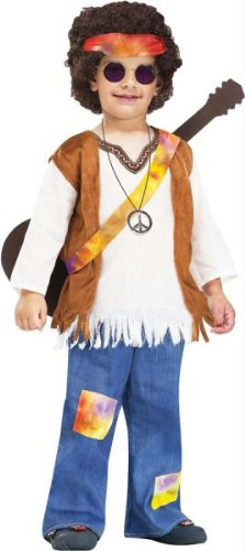 Hippie Toddler Costume Clothes