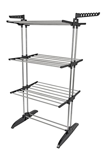 GreenWay GFR6000SS Collapsible Vertical Drying Rack