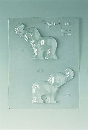 Molde para Chocolate con Forma de Elefante.