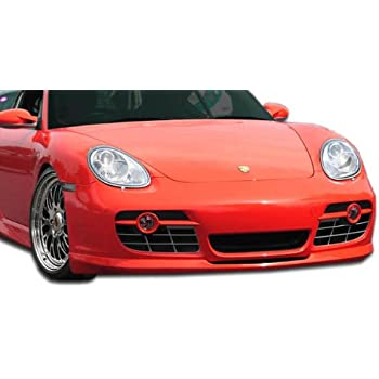 Duraflex Replacement for 2006-2008 Porsche Cayman Eros Version 2 Front Lip Under Spoiler Air Dam - 1 Piece
