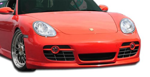 2006-2008 Porsche Cayman Eros Version 2 Front Lip Under Spoiler Air Dam - 1 Piece