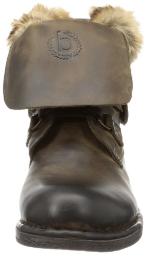 Bugatti J29341 - Botines chelsea de cuero mujer marrón - Braun (dunkelbraun 610)
