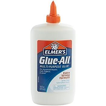 Elmer's Glue-All Multi-Purpose Liquid Glue, Extra Strong, 16 Ounces, 1 Count